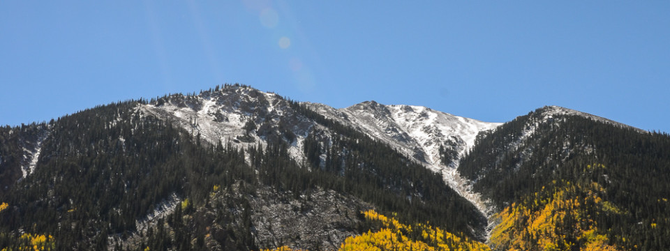 Aspen Mountain Sunshine