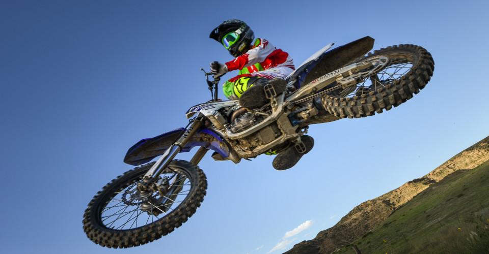 Motocross Overhead Jump