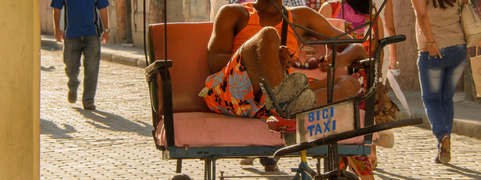 Havana Pedicab Driver