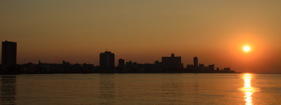 Havana Sunset Skyline