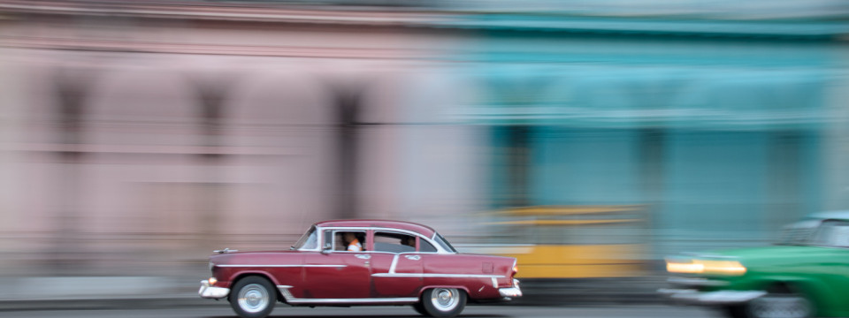 Cars on Havana Streets