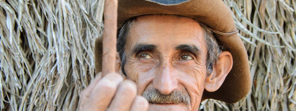 Cuban Cigar Farmer