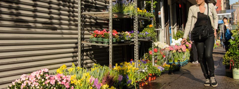 Flower Store in Manhattan