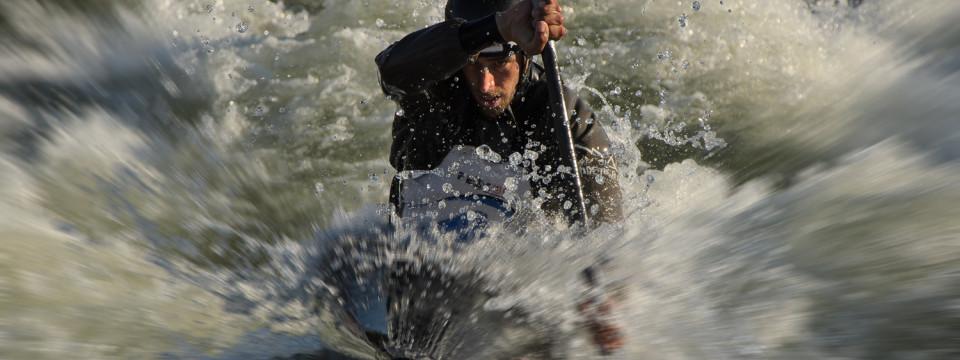 U.S. Olympic Kayaker